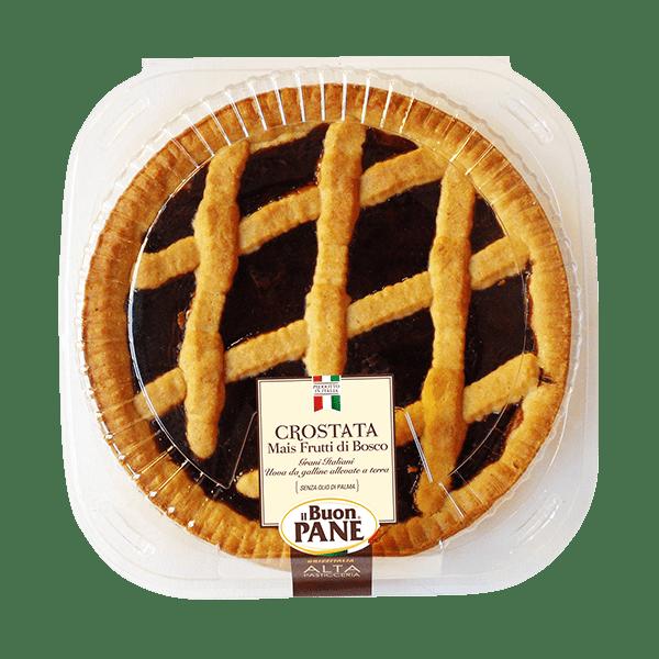 Crostata al Mais Frutti di Bosco Il Buon Pane