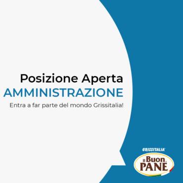 Offerta di Lavoro Grissitalia Alessandria Impiegata Amministrativa