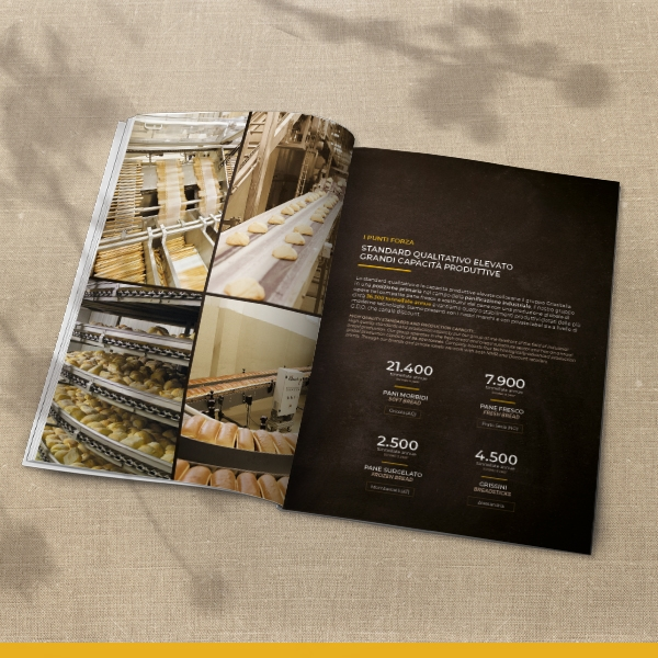 Catalogo Istituzionale Grissitalia Il Buon Pane | Panificio Italiano | Produzione Pane e Grissini